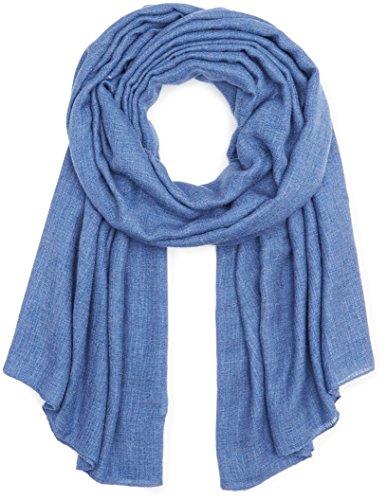 ESPRIT Accessoires Damen 087EA1Q012 Schal, Blau (Ink 415), One Size