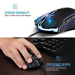 Gaming Mouse 7200DPI Programmable