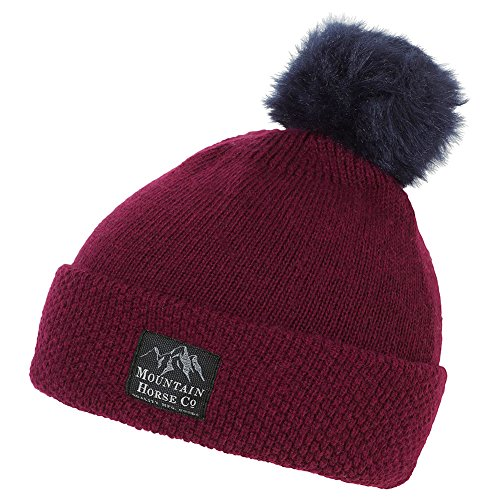 Mountain Horse Norah Hat One Size Cranberry Red