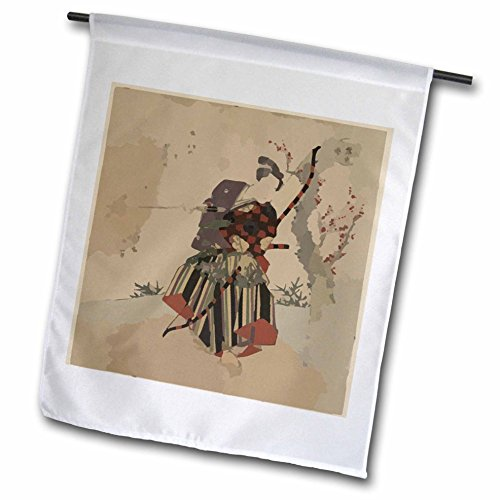 3dRose FL _ 61836_ 1Vecchia Pittura Giapponese
