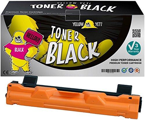 Yellow Yeti TN1050 (1000 pagine) Toner compatibile per Brother HL-1110 HL-1112 DCP-1510 DCP-1512 DCP-1610W DCP-1612W HL-1210W HL-1212W MFC-1810 MFC-1910W [3 Anni di Garanzia]