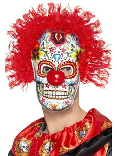 hör Maske Day of The Dead Horror Clown Halloween ()