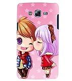 Printvisa Premium Back Cover Animated Girl And Boy In Love Design For Samsung Galaxy J7::Samsung Galaxy J7 J700F