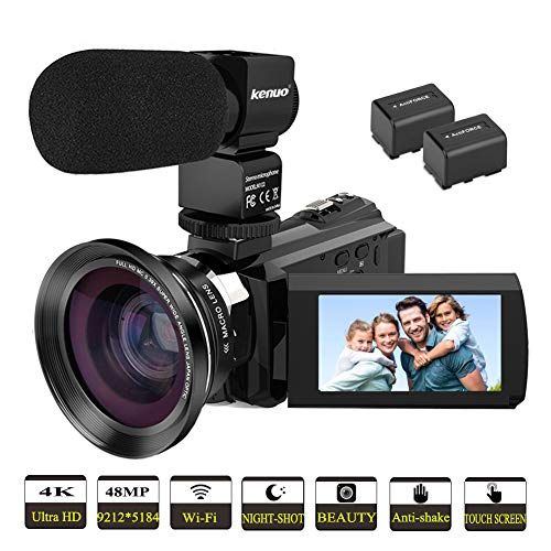 Video Camera 4K Camcorder Kenuo ...