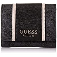 GUESS Womens Small Leather Wallet, Coal - SG773743