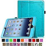 Coque iPad 4 / 3 / 2, Fintie Folio PU Similicuir Végétale étui Housse Fin De Haute Qualité stand Smart Case Cover avec le sommeil / réveil fonction pour iPad 2 / 3 / 4 Retina, Vintage Winter Ice