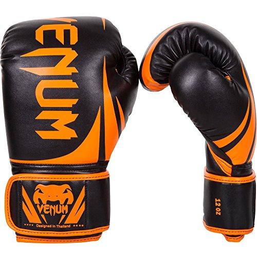 Venum Boxhandschuhe Challenger 2.0, Farbe:Neon Orange / Schwarz;Gewicht:8 oz