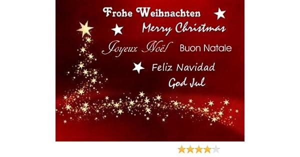 Frohe Weihnachten Verschiedene Sprachen Kostenlos.Wandtattoo Frohe Weihnachten Merry Christmas Weiss Wandaufkleber Mit Text Sternen Verschiedene Sprachen Weihnachtsdekoration Fensterbild