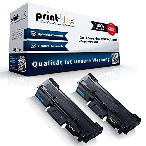Xerox Rebuilt-toner (2x Kompatible Tonerkartuschen für Xerox WorkCentre 3215 WorkCentre 3225 WorkCentre 3225 DNI 106R02777 Doppelpack Schwarz Black - Office Serie)