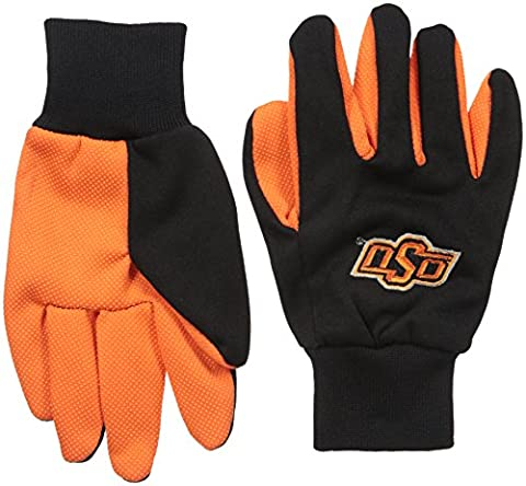 NCAA Oklahoma State Cowboys College Colored Palm Utility Glove, One Size