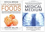 Medical Medium Anthony William Collection 2 Books Bundle With Gift Journal (Medical Medium: Secrets Behind Chronic and Mystery Illness and How to Finally Heal, Medical Medium Life-Changing Foods: Save Yourself and the Ones You Love with the Hidden Healing Powers of Fruits & Vegetables [Hardcover])