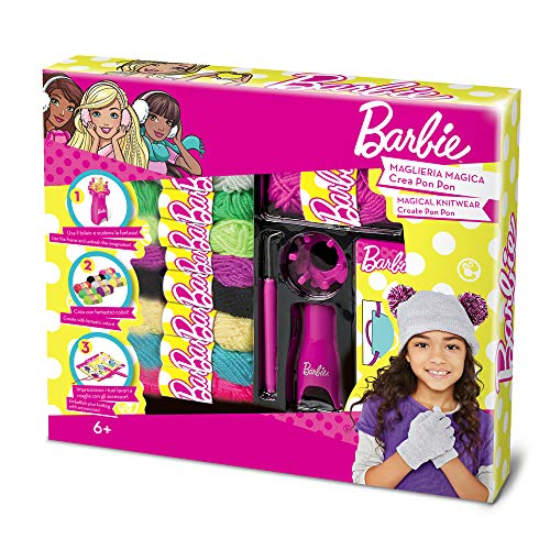 Grandi giochi gg00521 - set accessori maglieria magica di barbie