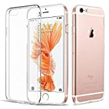 "iPhone 6 Plus 6S Plus Hülle, Vkaiy iPhone 6S Plus 6 Plus Schutzhülle, Transparent Ultra Dünn Handyhülle - Soft Silikon Crystal Durchsichtig TPU Bumper Backcover Case für iPhone 6/6S Plus (5,5"")"