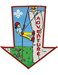 Scouting All Sections Arrow Shape Fun Badge Adventure - Collectors Item!