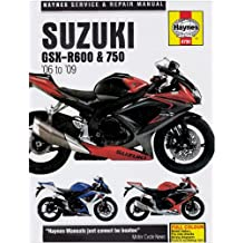 Suzuki GSX-R600 and 750 Service and Repair Manual: 2006 to 2009 (Haynes Service and Repair Manuals): 2006 to 2008