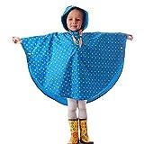 Riutilizzabile Poncho Impermeabile Bambini Incappucciati Pioggia Giacca Leggero Bambino per Unisex Clound giallo/S