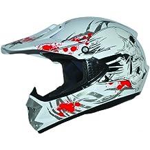 ATO Kids Pro Cross Casco Blanco. Tamaño: XXS a S Casco infantil Cross BMX MX Enduro casco