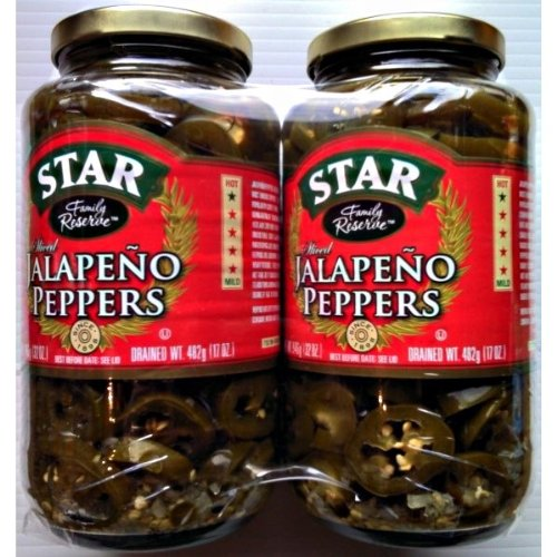 Étoiles Jalapeno Peppers 2 x 946g