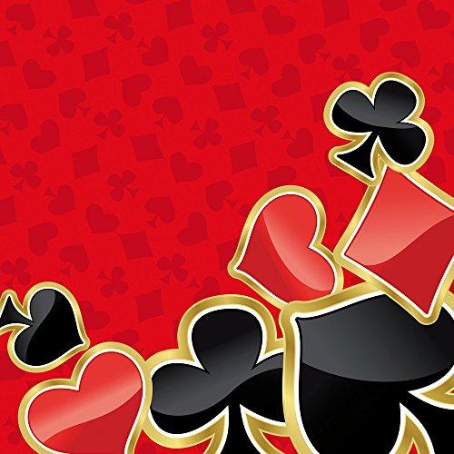 Apple iPhone 4 Housse Étui Silicone Coque Protection Poker Jeu de cartes Rouge Sac Downflip noir