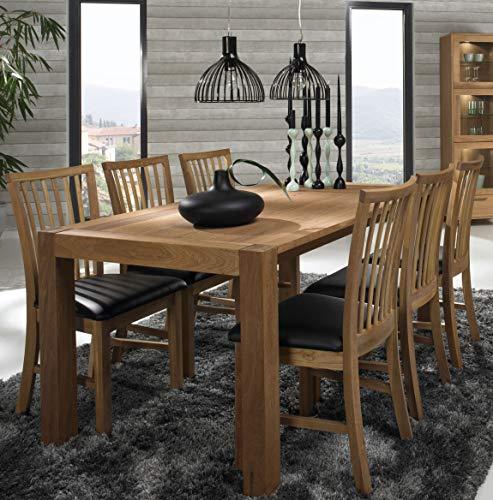 Billig Sam Esszimmer Nirvana Tisch Stuhl Ansteckplatte Eiche