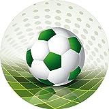 Tortenaufleger Fußball2/ 20 cm Ø
