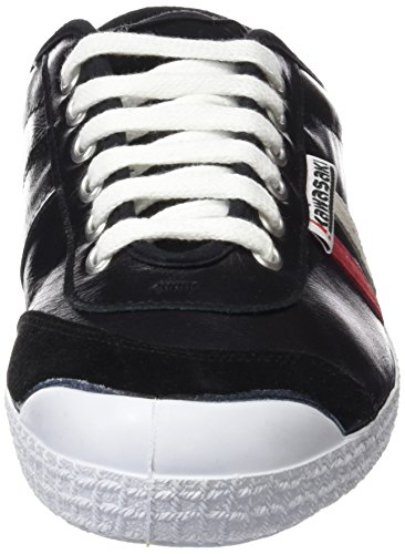 Kawasaki Herren 30retro Lth Sneaker BLCK RED/WHT