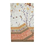 Bassetti 9226321 Fong Granfoulard, Baumwolle, beige, 270 x 270 cm in