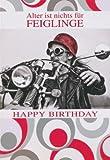 A4 Maxikarte Alter ist nichts für Feiglinge Motorrad