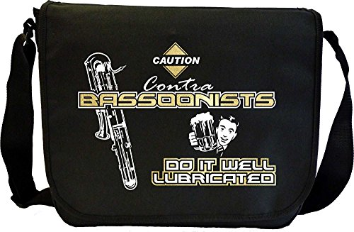 Contra Bassoon Well Lubricated Male - Sheet Music Document Bag Musik Notentasche MusicaliTee