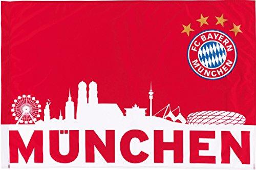 FC Bayern München Fahne München rot/weiß 150x100cm
