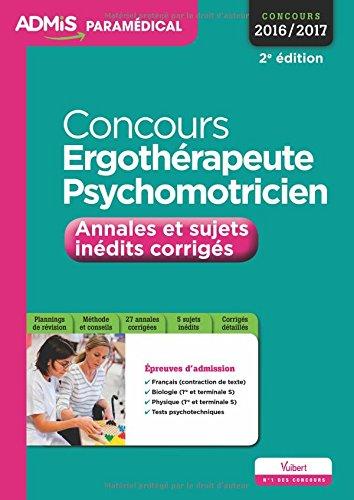 Concours Ergothérapeute et Psychomotric...