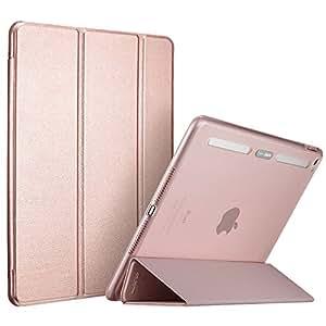 Custodia Protettiva per iPad Air 2, ESR Smart Case Cover [Ultra Sottile][Posteriore Semi-Trasparente] di Protezione Elevato con Bordi Paraurti di TPU e Auto Wake & Sleep funzione per Apple iPad Air 2 (Modello A1566 o A1567).