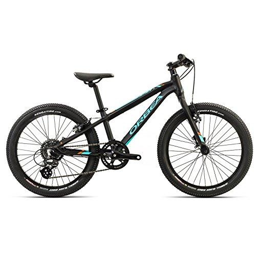Orbea MX 20 Team Kinder Fahrrad 20 Zoll 8 Gang MTB Rad Aluminium Mountain Bike, G00820, Farbe Schwarz Grün