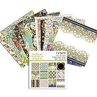 Beesuya Christmas pattern paper DIY photo album scrapbook junk journal hand account card background paper enjoyable