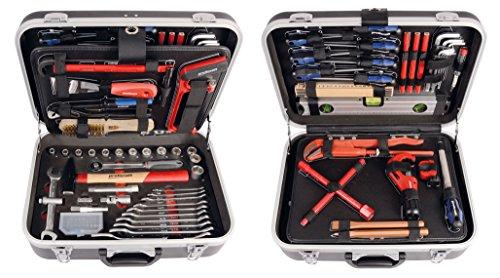 """PROJAHN 8685 proficraft Werkzeugkoffer SANITÄR metrisch 6-kant 12,5 / 1/2\"""", 95-tlg"""
