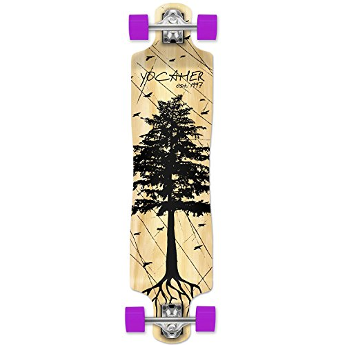 Yocellow in The Pines Natural Longboard -