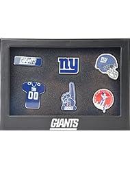 NEW YORK GIANTS 6Pinset dans boîte cadeau–NFL Football Supporter Boutique