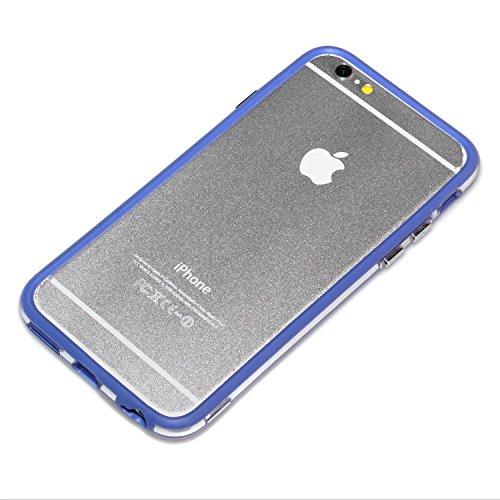 """deinPhone Étui pour iPhone 6(4,7"""") Bumper Blau"""