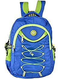 Friend Agencies Nylon 20 Liters Blue School Backpack (FA012)