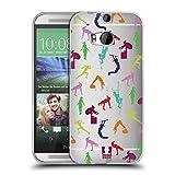 Head Case Designs Regimen Fitnessbegeistert Soft Gel Hülle für HTC One M8 / M8 Dual SIM