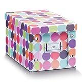 Zeller 17890 Aufbewahrungsbox Dots, ca. 16,5 x 28 x 15 cm
