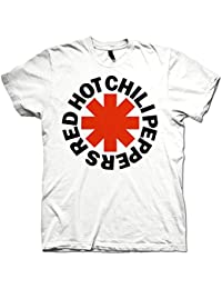 7d6374a02 Red Hot Chili Peppers Official T Shirt Classic White Asterix