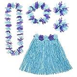 WIDMANN - Set Costume Hawaiano, Blu