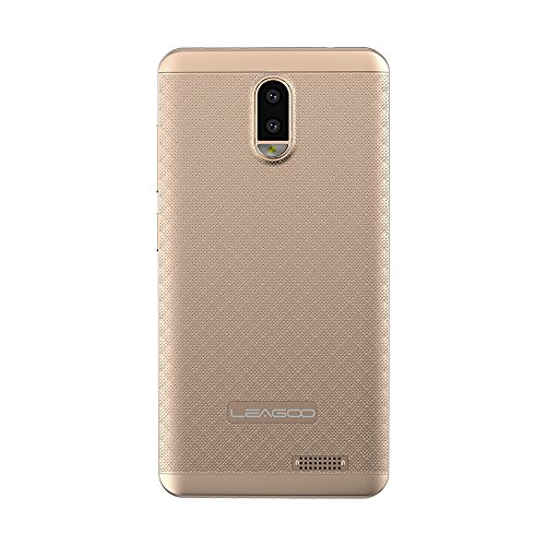 LEAGOO Z7 5.0 '' 4G Smartphone entsperren Android 7.0 Quad Core 8 GB Kameras FM GPS (Gold) (Entsperren Android Handy)