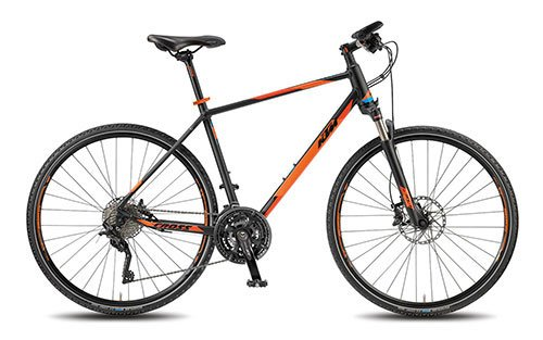 KTM Herren Fahrrad 28 Zoll Corssbike Loreto Cross -30 Gänge, Shimano-Schaltung, Suntour-Federgabel -