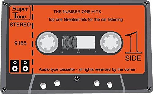 Audio Cassette Super Tone Stereo Alta Calidad De Coche De Parachoques Etiqueta Engomada 12 x 10 cm