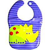 Imported Water Proof Feeding Bibs With Velcro Closure PACK OF 1 - B0776C7W6F