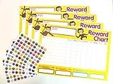 Children's Reward Charts to Reward Good Behaviour, Supplied with Extra Stickers!