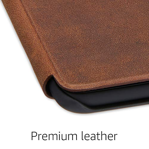 All-New Kindle Paperwhite Premium Leather Amazon Cover (10th Gen), Rustic Tan