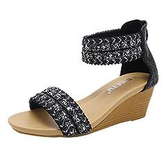 4e6808de88cd Silver embellished low heel sandal - Casual Women s Shoes